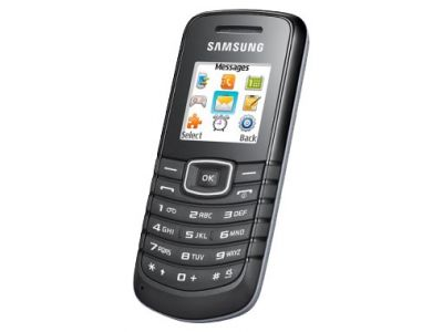 discount phone samsung e1080w black used