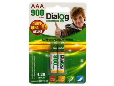other battery ni-mh dialog hr03-900-2b aaa