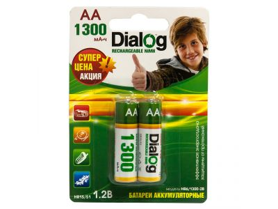 other battery ni-mh dialog hr6-1300-2b aa