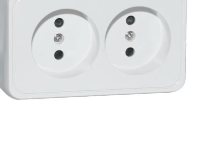 electro rozetka sven se-65423 white