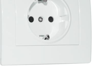 electro rozetka sven se-121 white