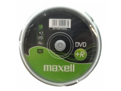 media dvd+r maxell 4g7 16x film10