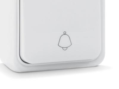 electro knopka zvonka sven se-65014-b white