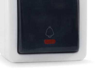 electro knopka zvonka sven se-72014l-b grey