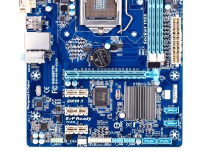 discount mb gigabyte ga-h61m-ds2v damaged