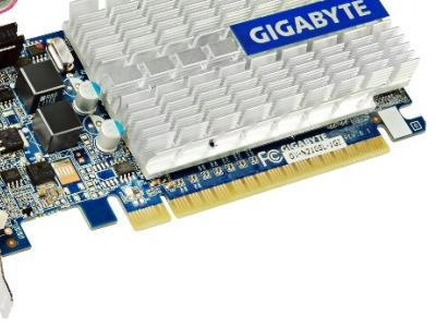 discount vga gigabyte pci-e gv-n210sl-1gi 1024ddr3 64bit oem used