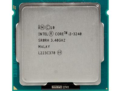 discount cpu s-1155 core-i3-3240 box used