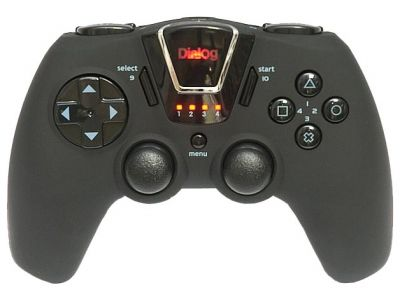 ms gamepad dialog gp-m24rf black