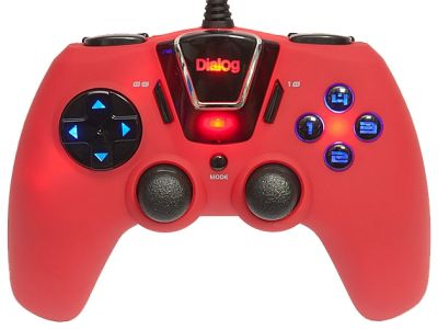 ms gamepad dialog gp-m24 red