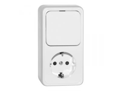 electro blok dvuhmestniy sven se-65311 white