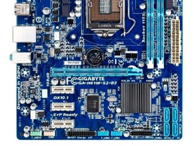 discount mb gigabyte ga-h61m-s2-b3 used