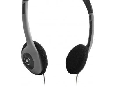 headphone defender hn-001 graphite+microphone
