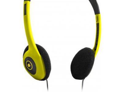 headphone defender hn-001 yellow+microphone
