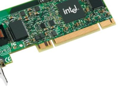 discount lan card intel 82557 used