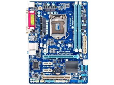 discount mb gigabyte ga-b75m-d3v no-planka used