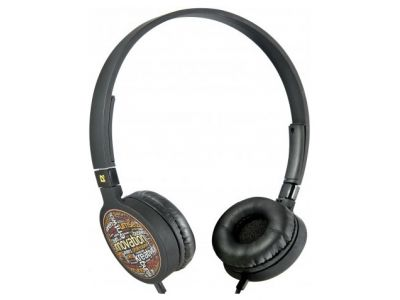 headphone defender hn-048 black+microphone