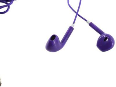 headphone defender mph-005 violet+microphone