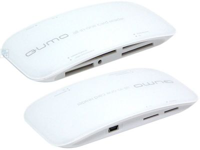 discount flash cardreader qumo white-line used