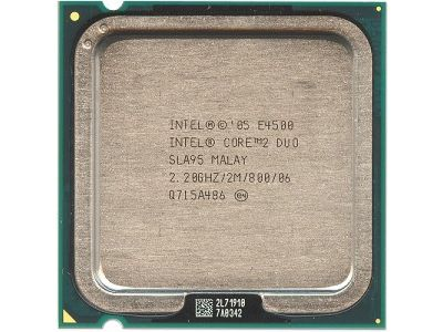 discount cpu s-775 core2duo-e4500 oem used
