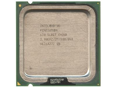 discount cpu s-775 p4-630 3000 800mhz 2mb oem used