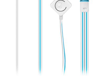 headphone sven seb-190m silver-blue+microphone