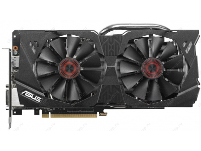 vga asus pci-e strix-gtx970-dc2-4gd5 4096ddr5 256bit 2dvi+hdmi+dp box