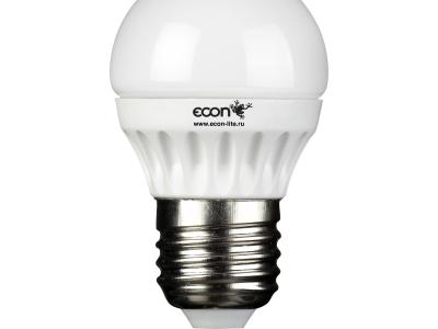 light lamp led econ p 7w e27 3000k p45
