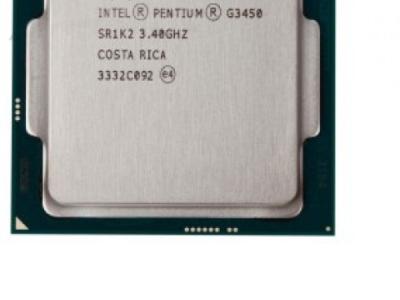 cpu s-1150 pentium-g3450 box