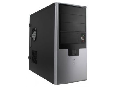 case inwin ear009 rb-s450hq7-0 black-silver