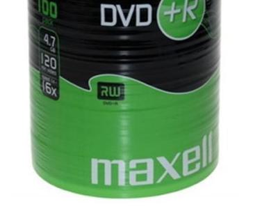 media dvd-r maxell 4g7 16x film100