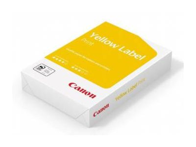 paper canon yellow label print a4 80g 500l