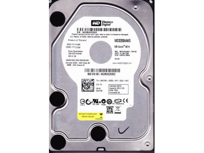 discount hdd wd 320 wd3200aaks used