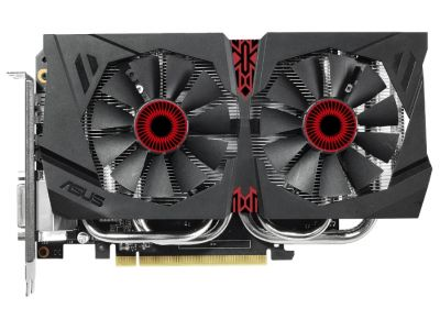 vga asus pci-e strix-gtx960-dc2-2gd5 2048ddr5 128bit dvi+hdmi+3dp box