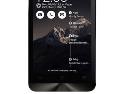 smartphone asus zenfone5 a502cg 8gb black
