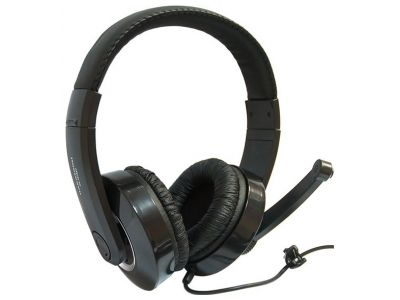 headphone dialog hs-t57mv+microphone black