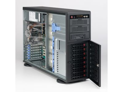 serverparts case supermicro cse-743t-500b server
