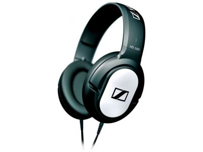 headphone sennheiser hd180 black-silver