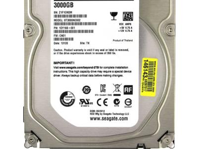 serverparts hdd seagate 3000 st3000nc002 sata-iii