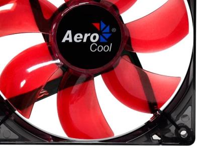 cooler aerocool lightning 12cm red led