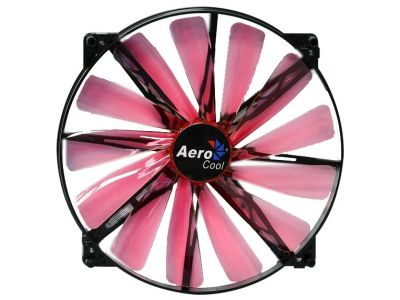cooler aerocool lightning 20cm red led