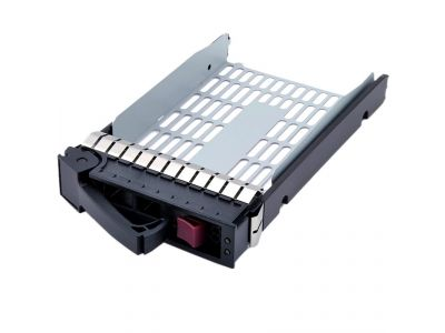 discount serverparts drivecase hp tray 3-5inch used