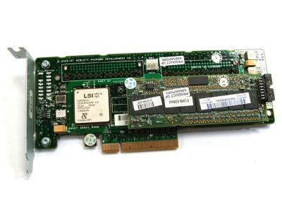 discount serverparts adapter hp smartarray p400 sas-sata raid used