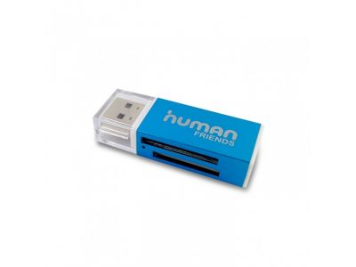 flash cardreader cbr glam blue