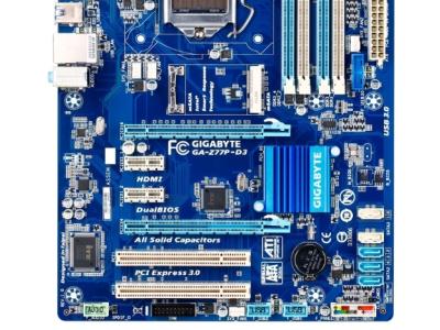 discount mb gigabyte ga-z77p-d3 used