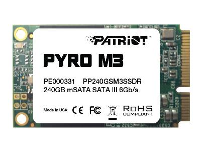 ssd patriot 240 pp240gsm3ssdr msata