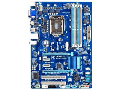 discount mb gigabyte ga-h77-ds3h used