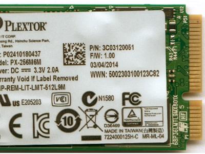 ssd plextor 256 px-256m6m msata