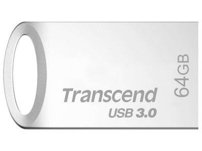 usbdisk transcend ts64gjf710s 64g silver