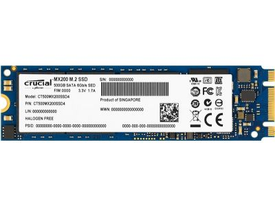 ssd crucial 500 ct500mx200ssd4 m2
