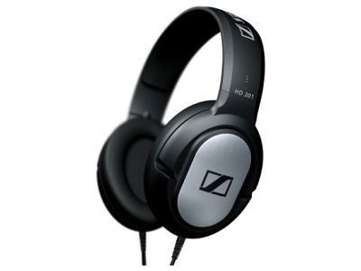headphone sennheiser hd201 black-silver